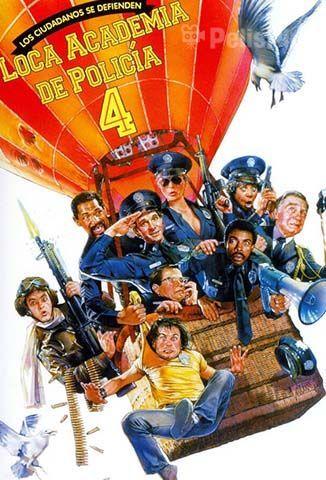 Loca Academia de Policía 4: Los Ciudadanos se Defienden